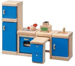 Plan Toys  houten poppenhuis meubels Keuken