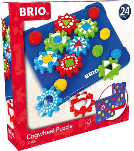 BRIO Tandwiel puzzel - 30188