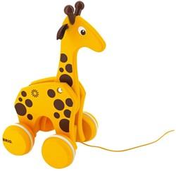Brio  houten trekfiguur Giraffe 30200