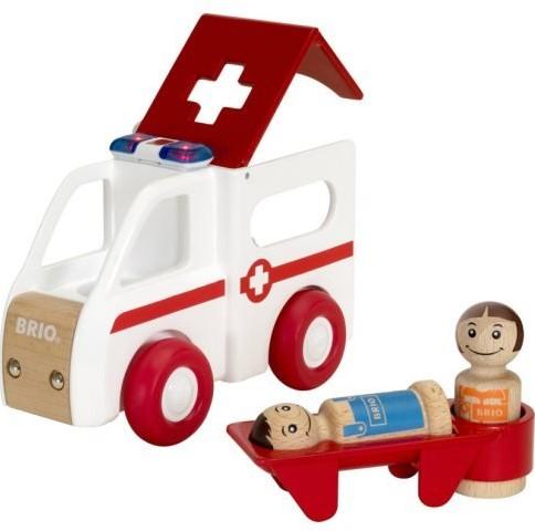 BRIO speelgoed Licht en geluid ambulance