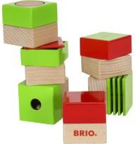 Brio  houten sensorisch speelgoed Sensory blokken