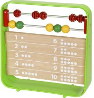 Brio  houten leerspel Telraam met klok