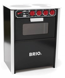 Brio houten keukentje Oven zwart 30479