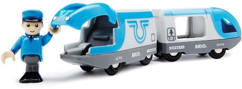 BRIO trein Passagierstrein op batterijen 33506-2