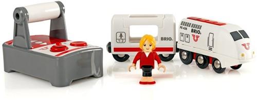 BRIO Witte RC locomotief met afstandsbediening - 33510