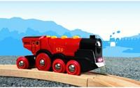 BRIO trein Rode locomotief op batterijen 33592-2