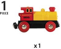 BRIO trein Locomotief op batterijen 33594-3