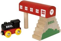 Brio  houten trein gebouw Classic brugstation