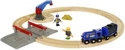 Brio  houten trein set Politie transport set 33812
