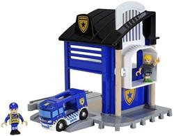 Brio  houten trein gebouw Politie Station 33813