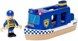 Brio  houten trein accessoire Politie boot