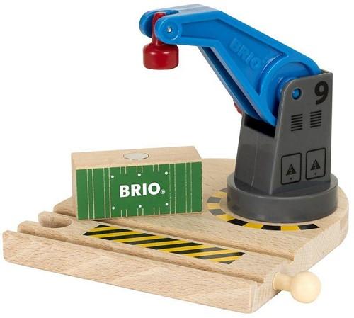 BRIO trein Lage hijskraan 33866-1