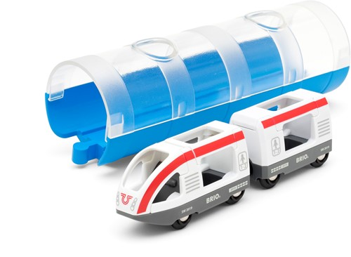 BRIO Travel trein & Tunnel - 33890