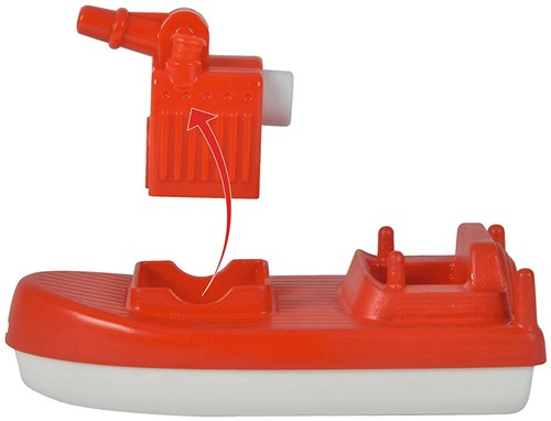 Aquaplay Brandweerboot met poppetje-2