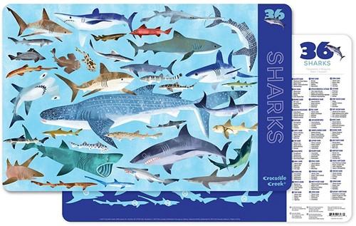 Crocodile Creek Placemats - 36 Sharks