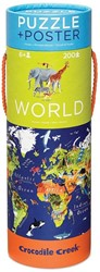 Crocodile Creek poster & puzzel Wereld