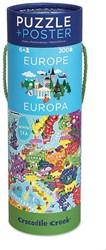 Crocodile Creek  legpuzzel Poster & Puzzle/Europe - 200 stukjes