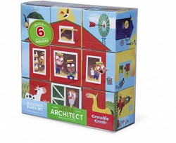 Crocodile Creek  blokpuzzel Little Architect/Boy