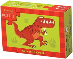 Crocodile Creek  legpuzzel 2-Sided Puzzle/Dinosaur* - 24 stukjes