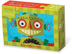 Crocodile Creek - Puzzels - 2-Sided Puzzle Robot