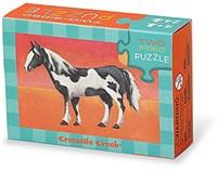 Crocodile Creek - Puzzels - 2-Sided Puzzle Horses