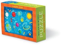 Crocodile Creek  legpuzzel Matchbox Puzzle/Solar System - 100 stukjes