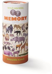 Crocodile Creek dieren memory Wilde dieren - 36 stukjes