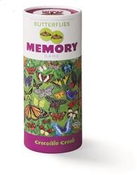 Crocodile Creek dieren memory vlinders - 36 stukjes