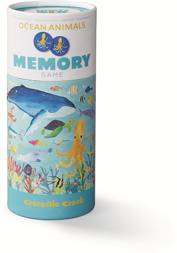 Crocodile Creek 36 Animal Memory/36 Ocean Animals