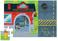 Crocodile Creek  legpuzzel Puzzle & Play/Fire Station - 24 stukjes-2