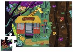 Crocodile Creek  legpuzzel Puzzle & Play/Safari - 24 stukjes
