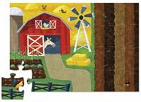 Crocodile Creek  legpuzzel Puzzle & Play/Farm - 24 stukjes-2