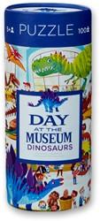Crocodile Creek dag in het museum puzzel Dinosaurussen - 72 stukjes
