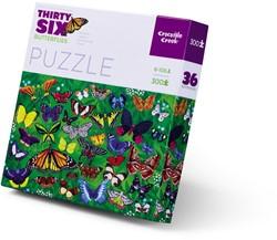 Crocodile Creek puzzel Vlinders - 300 stukjes