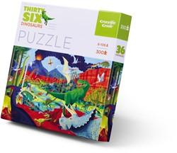 Crocodile Creek puzzel Dinosaurussen - 300 stukjes