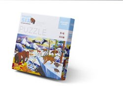 Crocodile Creek puzzel Ijstijd dieren - 300 stukjes