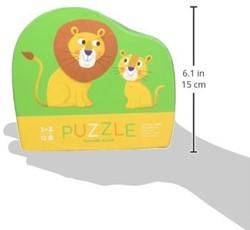 Crocodile Creek legpuzzel Mini Shaped Puzzle/Little Lion - 12 stukjes