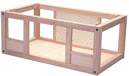 Plan Toys  houten poppenhuis Basement dollhouse