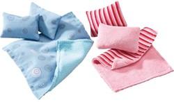 HABA Little Friends - Accessoires voor poppenhuis Kussens en dekens
