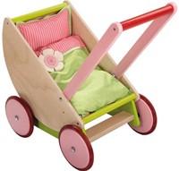 Haba  houten poppen meubel Selection - poppenwagen kersen-2