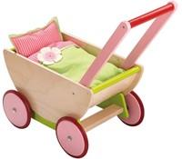 Haba  houten poppen meubel Selection - poppenwagen kersen-1