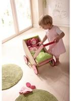 Haba  houten poppen meubel Selection - poppenwagen kersen-3