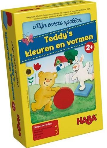 HABA Spel - Mijn eerste spellen - Teddy's kleuren en vormen-1