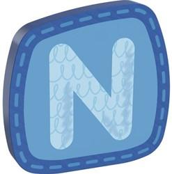 Haba  decoratie houten letter N