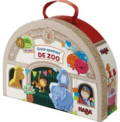 HABA Mijn eerste speelset - De zoo - Grote speelset In de dierentuin