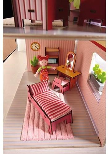 Haba  Little Friends houten poppenhuismeubels Slaapkamer-3