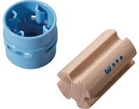 Haba  houten knikkerbaan accessoires Rollebollen Zuilen 300850-2