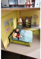 Haba  Little Friends houten poppenhuismeubels Slaapkamer dubbelbed-3