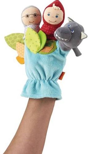 Haba  handpop Handpop Sprookje Roodkapje 300486-2