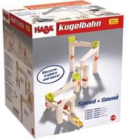 Haba  houten knikkerbaan set basisdoos Speed & sound 302331-3
